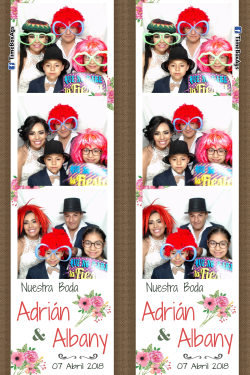 Photo Booth Boda Adrian y Albany Aguascalientes