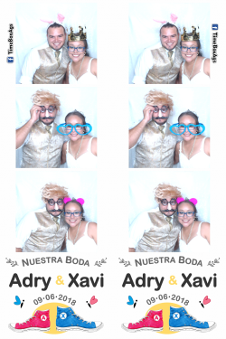Photo Booth Boda Adry y Xavi Aguascalientes