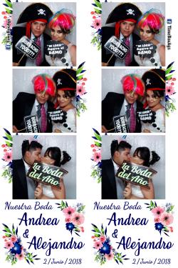 Boda Andrea y Alejandro