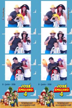 Cumpleaños 4 José Emiliano