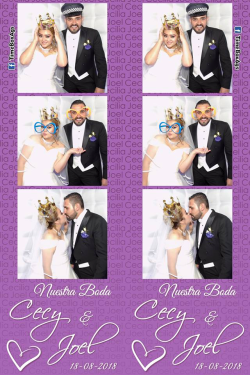 Photo Booth Inflable Boda Cecy y Joel