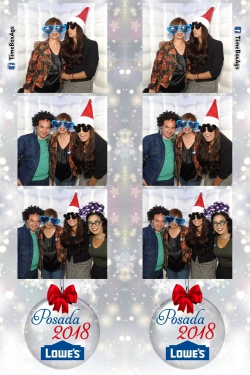 Photobooth Inflable Posada Lowes Aguascalientes