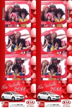 San Valentín KIA 2018