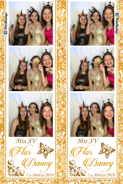 Photobooth XV Años Flor Daney Ags