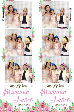 Photobooth Inflable XV Años Mariana Isabel Aguascalientes