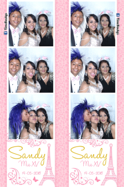 Photobooth 15 Años Sandy Aguascalientes