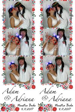 Boda Adam y Adriana