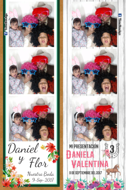 Boda Daniel y Flor - Presentacion