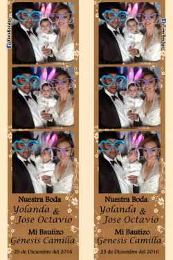 Boda Yolanda y Jose Octavio - Bautizo