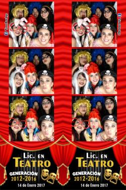 Graduación Lic. en Teatro